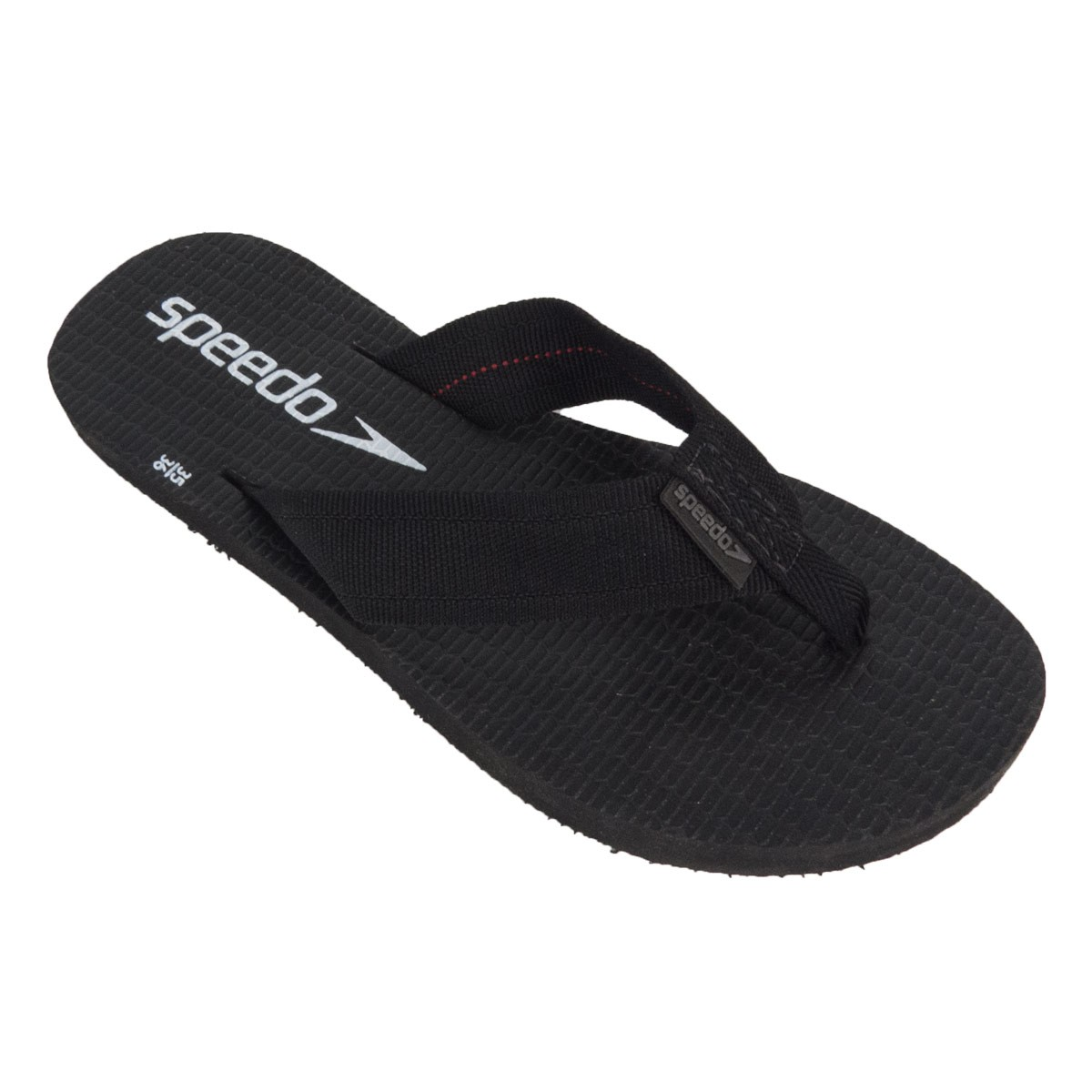 Chinelo Speedo Wide Stripes Preto L