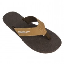 Chinelo Speedo Wide Stripes Skin Embissed Marrom L